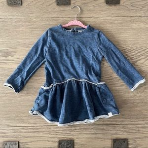 Burts bees baby girl sweatshirt dress